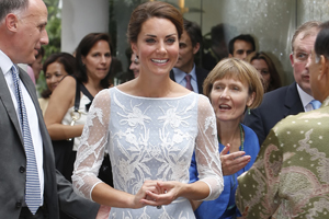 Kate on tour: You vote Bespoke Temperley creation your favourite outfit