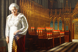 A degree of humanity: A new Jubilee portrait of the Queen is unveiled