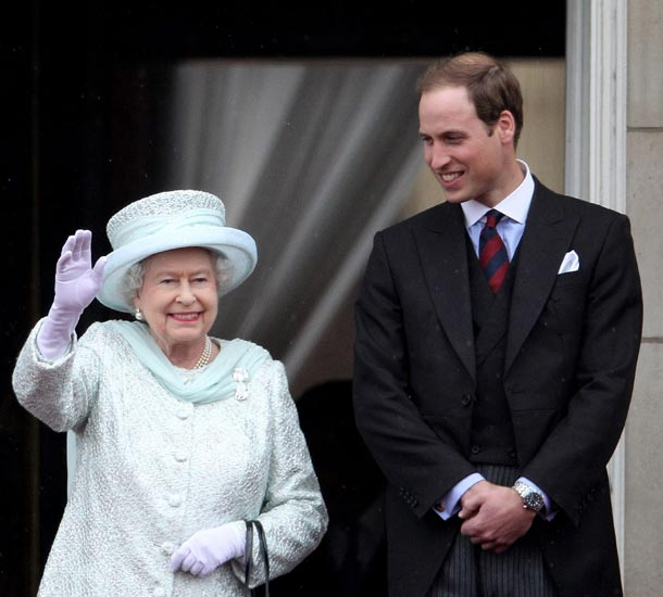 Diamond Jubilee: The day that Britain's young Princess ascended the throne  - hellomagazine.com