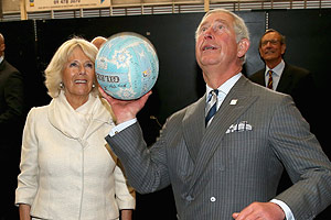 Prince Charles and Camilla hold court in New Zealand